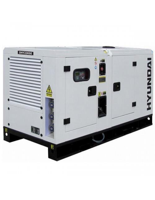 Generador eléctrico Hyundai DHY22KSE